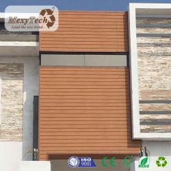 Instalación sencilla decoración exterior impermeable WPC el revestimiento de madera/Saned/Cepillo