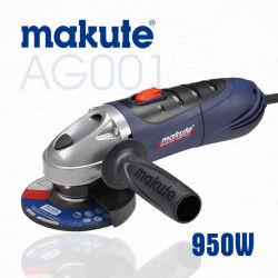 Strumentazione elettrica professionale della smerigliatrice di angolo degli strumenti di Makute 950W 115mm