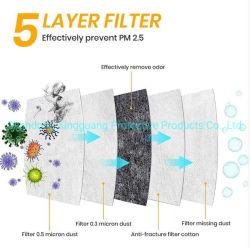 빠른 출하 도매 KN95/N95/FFP2/인공호흡기 형식 짠것이 아닌 방어적인 먼지 마스크 Facial 가면