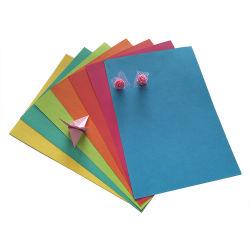 Commerce de gros Woodfree 70GSM A4 du papier copie couleur pour une impression couleur