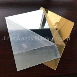 precio de fábrica Alands 4ftx6FT de oro y plata de hoja de Espejo acrílico