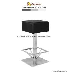 Из нержавеющей стали 201 квадратных PU сиденья стул кресло с подставкой для ног охватывает