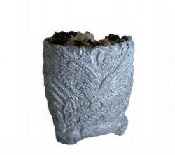 YJ-HP-012 hergestellt in China Ausspicious Ausspicious Eagle Blumentopf hergestellt von Sprühen von Granitfarbe für Steinschnitzerei Landschaftsarchitektur Gartenhandwerk