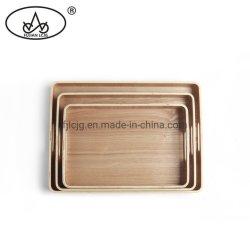 Cozinha dons de bambu Jantar de madeira armazenamento pequeno dentro do quadro que serve chá da bandeja de madeira