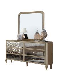 Apprettatrice della Tabella di preparazione di stile del Medio Oriente della mobilia della camera da letto degli insiemi di camera da letto con lo specchio
