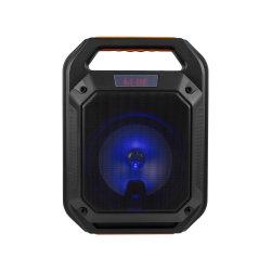 Luz de cor 6,5 polegadas Caixa de parte do dispositivo portátil sem fio do alto-falante Bluetooth