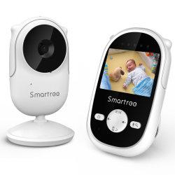 Baby monitor con fotocamera, videocamera per bambini con audio Talk a 2 vie per visione notturna a 2,4 GHz, con modalità Vox e ninne nanne, rilevamento della temperatura; aggiornamento Vb601 e Vb603; DXR-8
