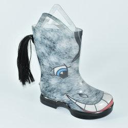 Bonitinha Horse Imprimir capas de chuva/calçados para as crianças com pega