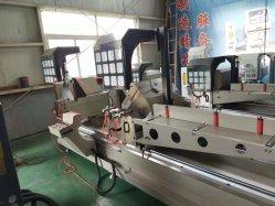 Ljz Double-Head2-500X4200 vu Machine de découpe CNC pour matériau aluminium pour la coupe de mur rideau en alliage en aluminium avec des matériaux en alliage dur les lames de scie
