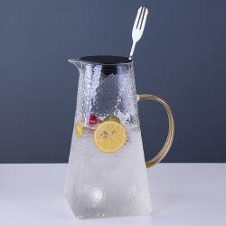 台形ホウケイ酸ガラス製冷製ケトルウォーターポット高温度耐性 ケトル、 1.5L