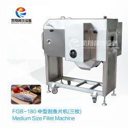 Fgb-180 automatische het Verwijderen van de Backbone van Vissen Centrale Scherpe Machine - om de Filet van Vissen te krijgen
