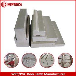 L'extérieur de moulage de brique Composite PVC WPC Brickmold/Astragal/T-Bar/tubage/Mull Post pour châssis de fenêtres et portes jambage de porte