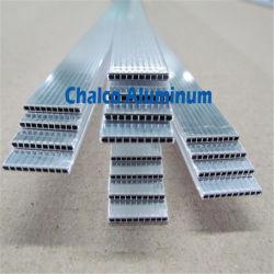 Extrusión de aluminio tipo D Condensador el cabezal de tubos de tuberías