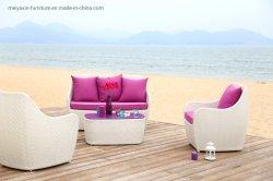 Mobilia stabilita del sofà del rattan con l'ammortizzatore comodo da Factory Produce