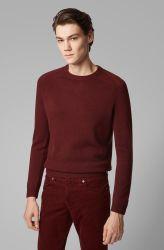남자의 형식 옷은 대원 네클라인으로 스웨터 잠옷을 정규 적합했다