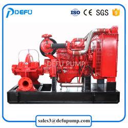 Van het Diesel van de Levering van de fabriek de UL/FM Vermelde Pomp Met motor Water van de Brand Centrifugaal