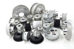 Puleggia per cinghia di distribuzione in alluminio con denti tipo MXL, XXL, XL, L, H, XH, xxH