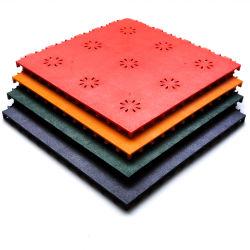 انقر فوق تشابك أسعار البلاط الأرضية السجاد PVC مصنع البلاط في الهواء الطلق