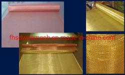 304, ottone, rete metallica di rame per il sistema del filtro