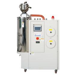 El panal de miel 3 en 1 de rotor desecante automática Máquina de secado de plástico PET Crystallizer materias primas utilizadas secador deshumidificador industrial con la pala cargadora