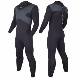 잠수용 고무옷 남자와 여자 후견인 3mm 내오프렌 수영 수중 스포츠를 위한 긴 소매 보유 온난한 뒤 Zip를 파도타기를 하는 가득 차있는 스쿠바 다이빙 한 벌