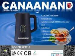 Canaanand - SS Keuken Home apparatuur Koffiezetapparaat warm water Boiler kan Pot Samovars Elektrische Waterkoker OEM ODM