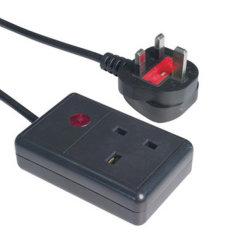 영국 무선 소켓 스마트 전원 스트립 AC 콘센트 USB 포트 공식 가구에 전화 홀더가 있는 소켓 전기 연장 코드