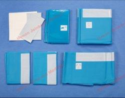 Pack universel médical opération chirurgicale stérile jetable drapé Packs avec Robe chirurgicaux