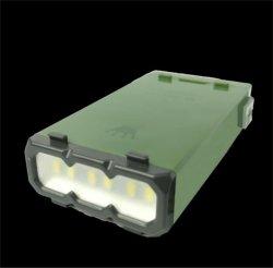 مصباح LED متعدد الوظائف من الماغنسيوم LED محمول Camping Rescue ضوء تحذيري بشأن الطوارئ في الهواء الطلق
