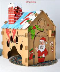Big Play House cartone Toy House Paperboard Toy Room per Bambini facile da montare con corrugato a 5 strati ad alta resistenza Commercio all'ingrosso di carta