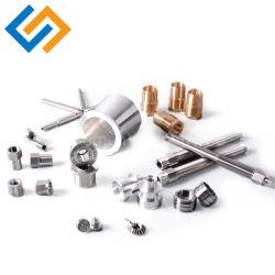 中国のカスタム金属の高精度の旋盤サービスアルミニウムステンレス鋼の真鍮の製粉