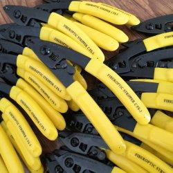 Pinzas de 3 puertos de la herramienta extractora de la cortadora de cable óptico para cable de fibra óptica Stripper