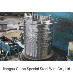 Alta productividad Spheroidized de alta calidad Alambre de acero templado puede ser utilizado en los tornillos