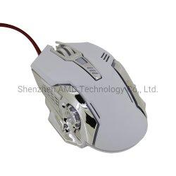 형식에 의하여 타전되는 LED 가벼운 광학적인 USB 도박 마우스
