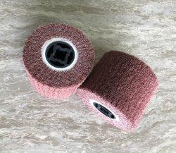 60# 80# el MOP no tejido de la tapa de fibra de nylon moliendo el trefilado Matt Pulido Pulido abrasivos de ruedas cepillo de acero inoxidable