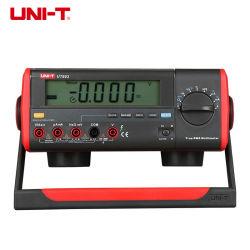 Uni-t ut803 Sélection automatique numérique RMS vrai multimètres numériques de paillasse Volt amp Ohm Capacitance Testeur de Temp