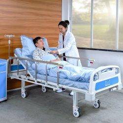 A1K Economic Steel Mobili Ospedale monofunzione regolabile Manuale medico Letto per paziente con CE/FDA
