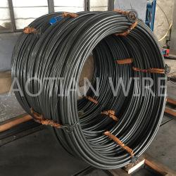 블랙 인산염 코팅 Pasaip 무응결 냉각 품질 나사 와이어 로드 Scm435 Class 12.9 강철 와이어
