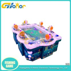 Pesca Coin-Operated eletrônico máquina de jogos de arcada de capturas de peixe do simulador de máquina de jogos 55 Polegadas Máquina de pesca de simulação para venda
