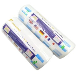 Salon speciale taglio capelli collo monouso carta per capelli elastica per parrucchieri collo carta