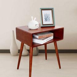 2020 Smart Кофейный беспроводные системы / Проводной таблицы зарядки мебель из дерева на прикроватном мониторе стол с выдвижной ящик