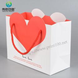 衣類のキャリアのための注文の印刷されたリサイクルされた方法ペーパーギフト袋 ギフトバッグの製造業者
