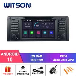 Lettore DVD dell'automobile del Android 10 di Witson per BMW 5 1996-2001) multimedia di GPS della radio del veicolo di serie E39 (