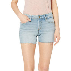 Настраиваемые летом новый стиль тонкий средний пояс 100% стирать джинсы хлопок плюс размер случайных коротких замыканий джинсы для девушек женщин ежедневного ношения