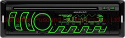 Reproductor de MP3 Radio del Coche 12V Negro de la tecnología inalámbrica Bluetooth uno DIN coche MP3
