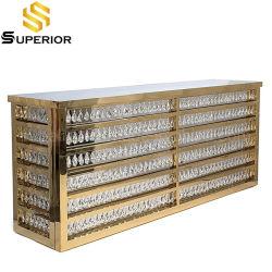 Utiliza la barra de acero inoxidable Tabla LED comercial de suministros de la discoteca