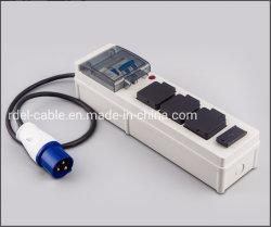 4 contacts Extension d'alimentation électrique prise UK