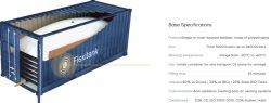 20ft plástico alimentario Flexitank Para el aceite de maíz a granel Transporte