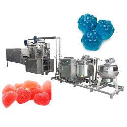 Geleia automática e a produção de doces pegajosos máquina de fazer doces programáveis de linha