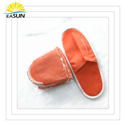 Non tissés jetables pantoufles pantoufles de compagnies aériennes de voyage de pliage